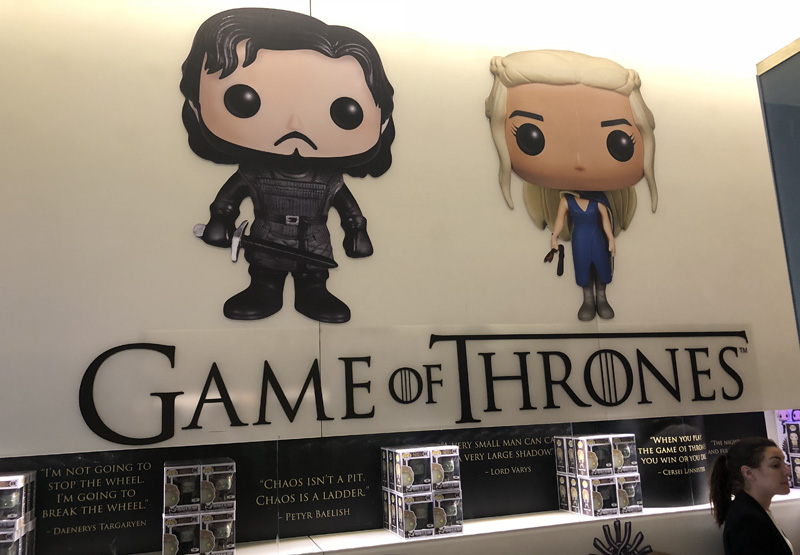 HBO Game of Thrones Funko Pop Shop Gallery!