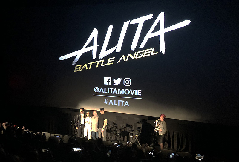 Motorball Footage From Alita: Battle Angel Revealed at NYCC!