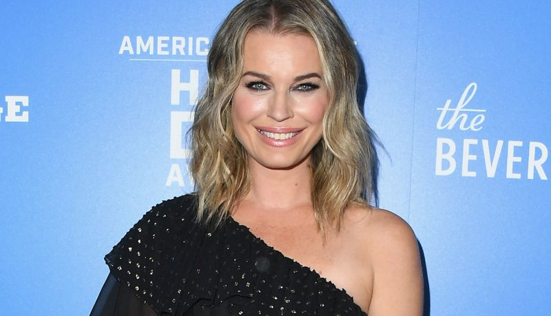 Rebecca Romijn Signs Away Her Soul to Satanic Panic