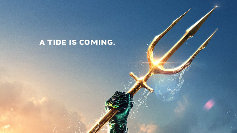 A Tide is Coming in the New Aquaman Poster