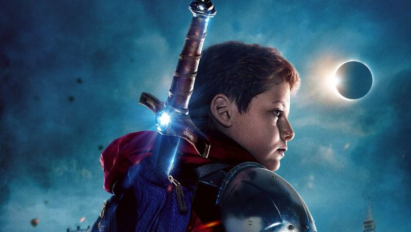 Evil Gets Schooled in the Official The Kid Who Would be King Poster