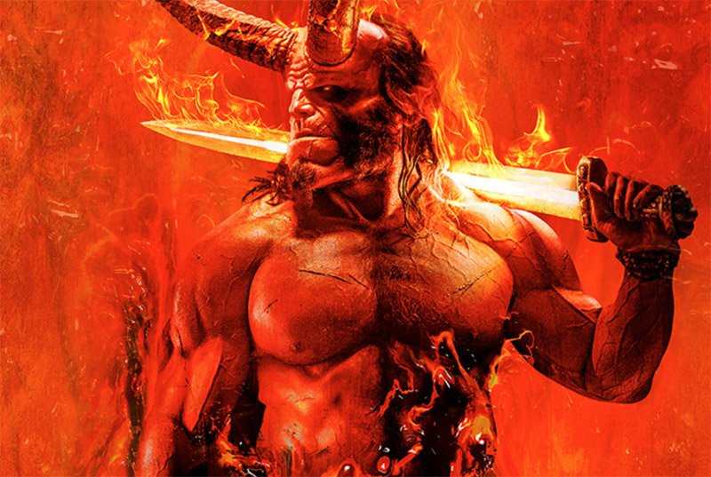 The Hellboy reboot gets a first trailer