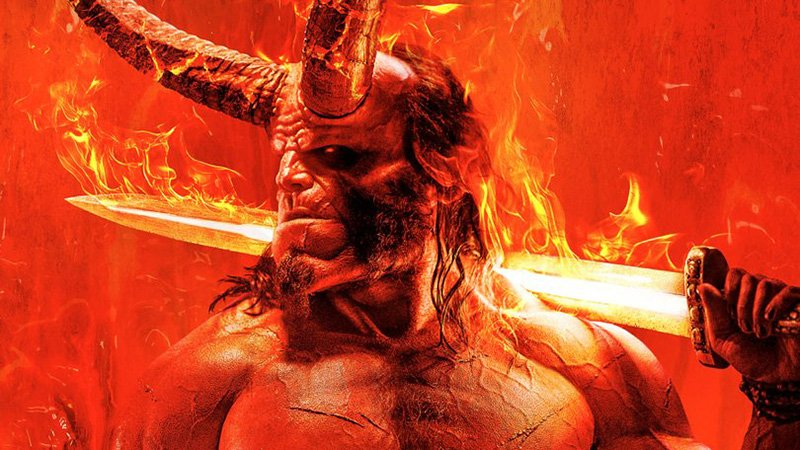 Hellboy Movie Gets A Fiery New Poster