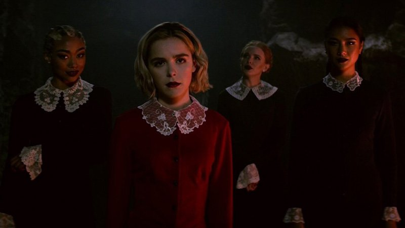 New Chilling Adventures of Sabrina Photos Released