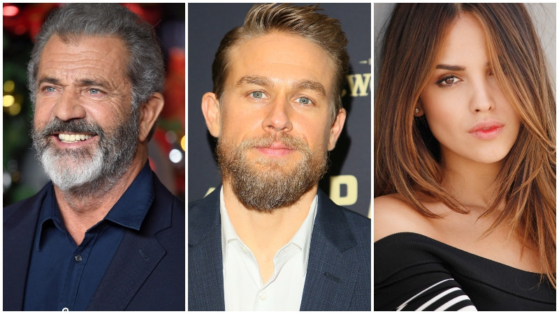 Mel Gibson Boards Waldo with Charlie Hunnam and Eiza Gonzalez