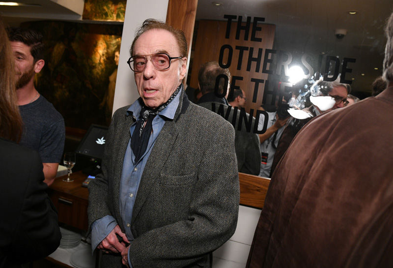 CS Interview: Peter Bogdanovich on The Other Side of the Wind