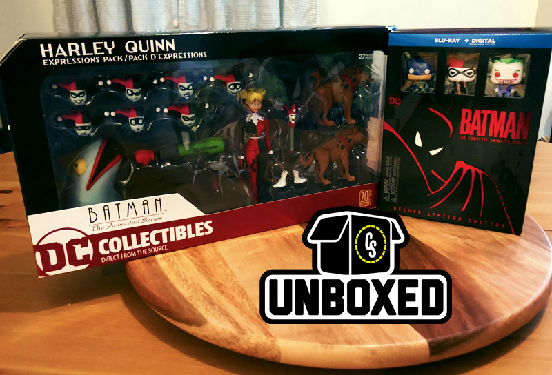 CS Unboxed: Batman: The Animated Series Blu-ray & Harley Figure