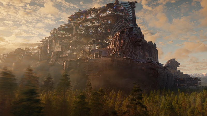 Mortal Engines Behind-the-Scenes Featurette Explores Moving Cities