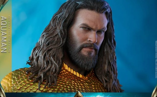 Hot Toys Reveals Aquaman Action Figure in His Iconic Suit