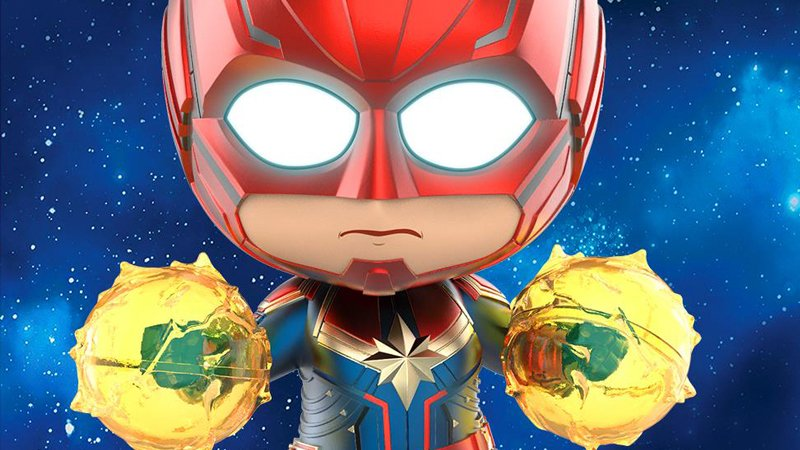 Captain Marvel bobbleheads