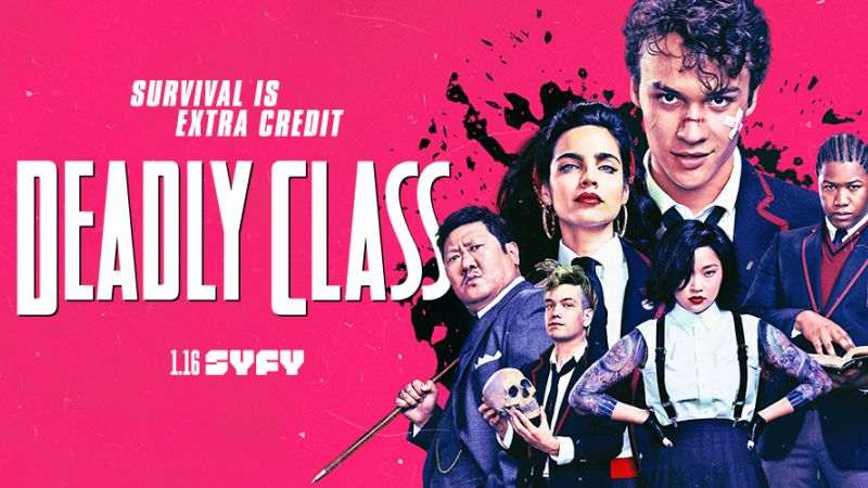 Watch the Deadly Class Pilot Online!