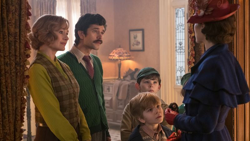 Ben Whishaw and Emily Mortimer on Why We Need Mary Poppins More than Ever