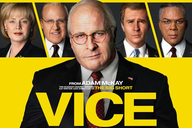 New International Poster for Adam McKay's Vice