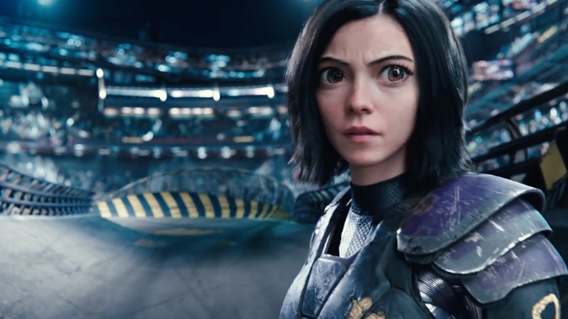 Alita Super Bowl Spot Dives In