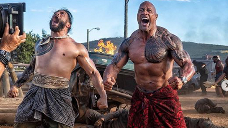 WWE Champion Roman Reigns Joins Hobbs and Shaw