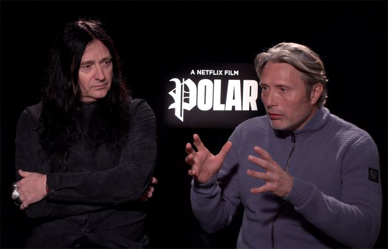 CS Video: Mads Mikkelsen & Jonas Åkerlund on Netflix's Polar