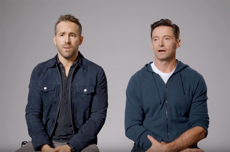 Ryan Reynolds and Hugh Jackman Call a Truce in New Ad