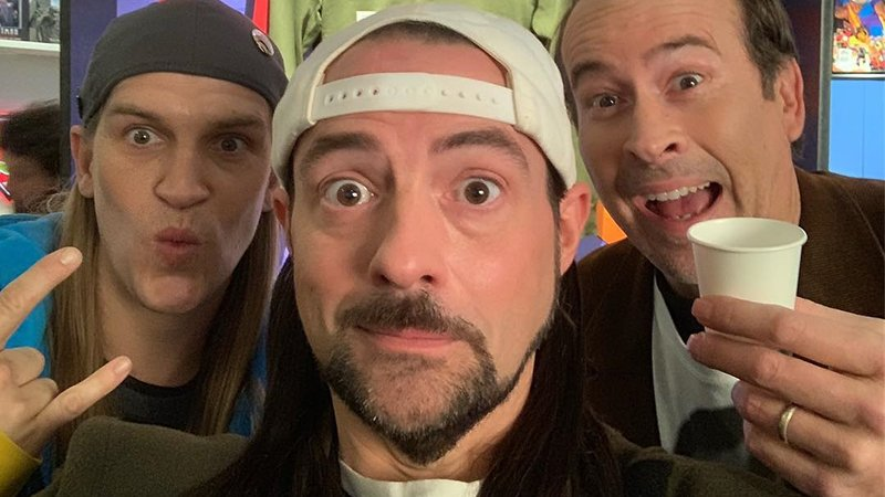 Kevin Smith Celebrates as Jay and Silent Bob Reboot Begins Production