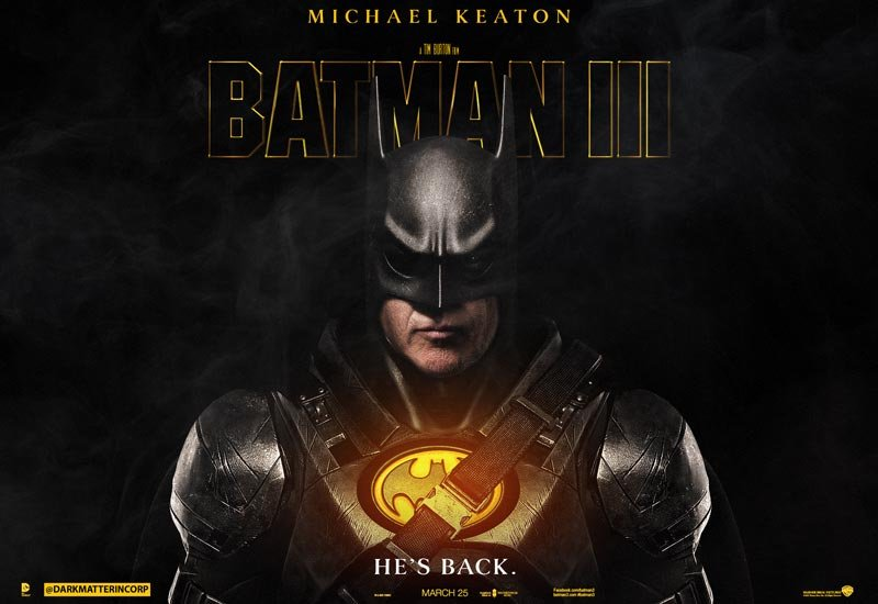 POLL: Should Tim Burton and Michael Keaton Make a Third Batman?
