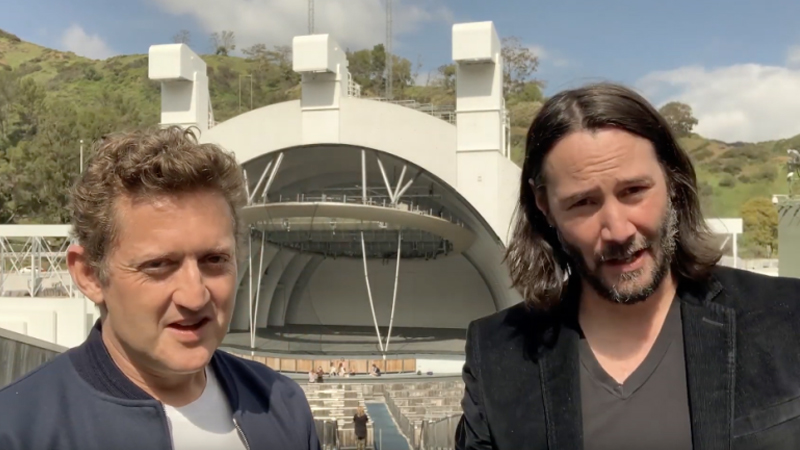 Keanu Reeves and Alex Winter