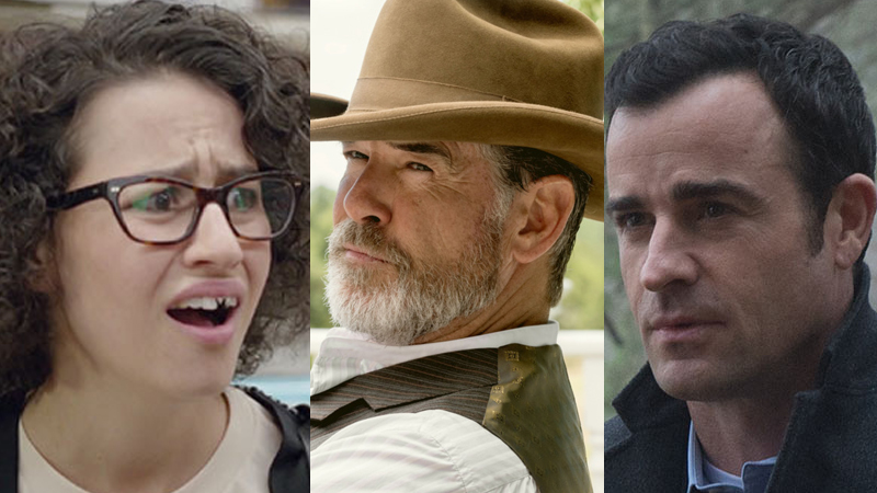 Justin Theroux and Pierce Brosnan Join A24's 'False Positive'