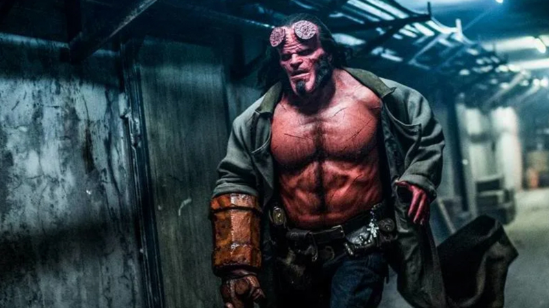 new Hellboy featurette