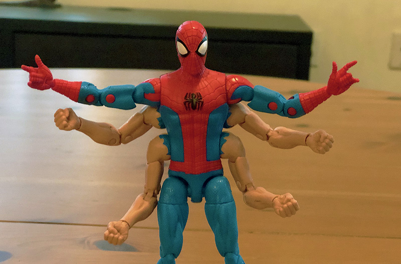 New Spider-Man Marvel Legends Figures From Hasbro Unboxing