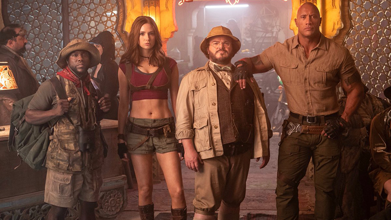 The Band Is Back In First Jumanji Sequel Set Photo