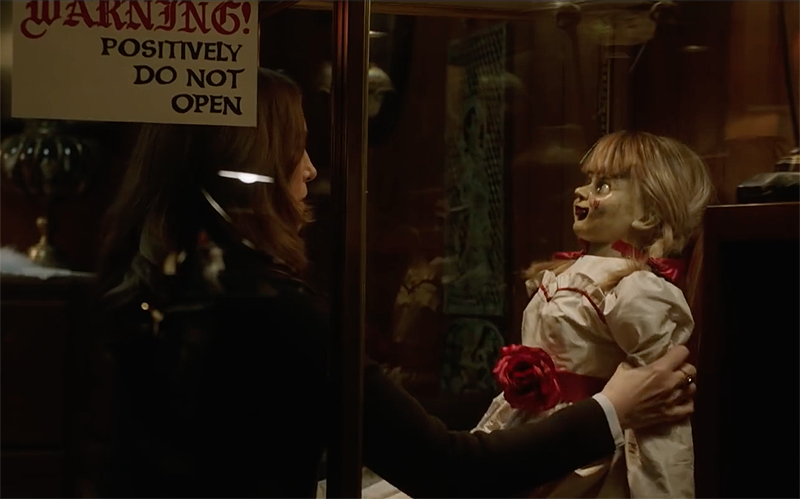Annabelle Comes Home Trailer Makes The Warrens Fight That Damned Doll's Friends