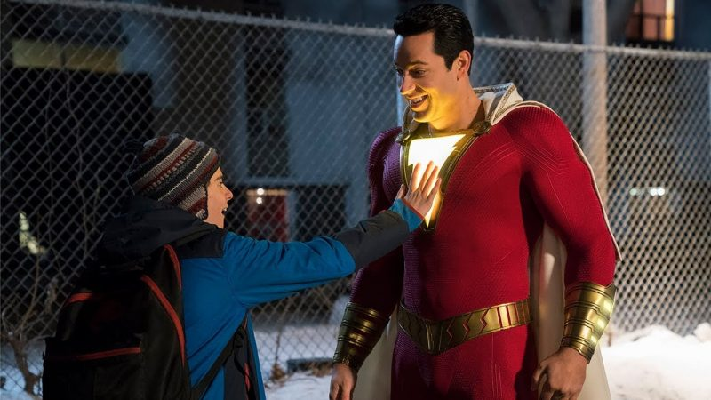 first Shazam! reactions