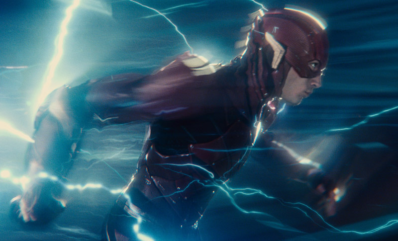 Ezra Miller Rewriting Flash Movie Script With Grant Morrison