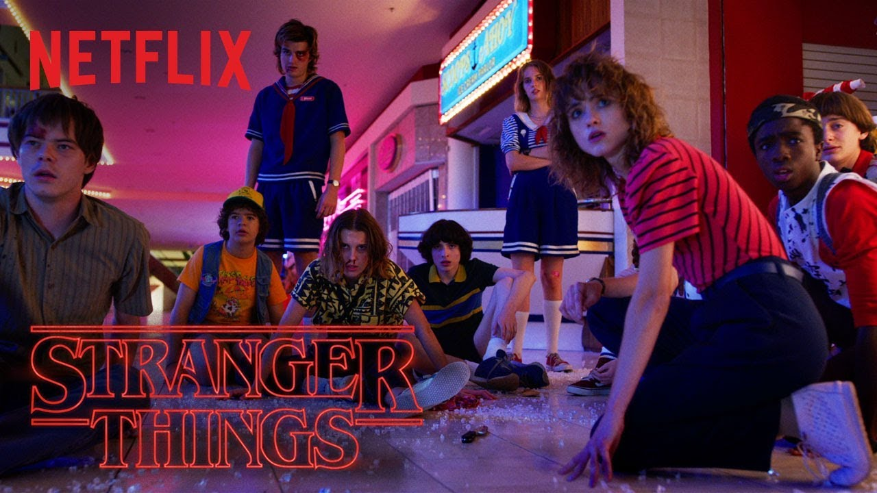 Image result for STRANGER THINGS SEASON 3 BANNER