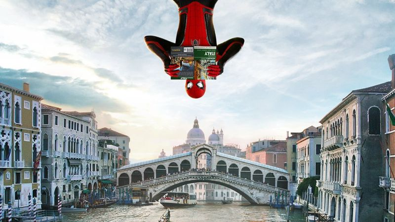 The Web Head Goes International In New Far From Home Posters