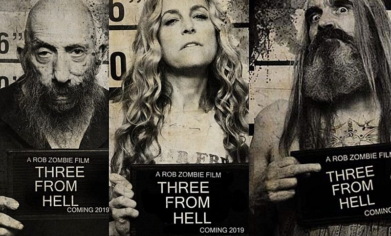 Rob Zombie Announces 3 From Hell Trailer Arriving Next Week