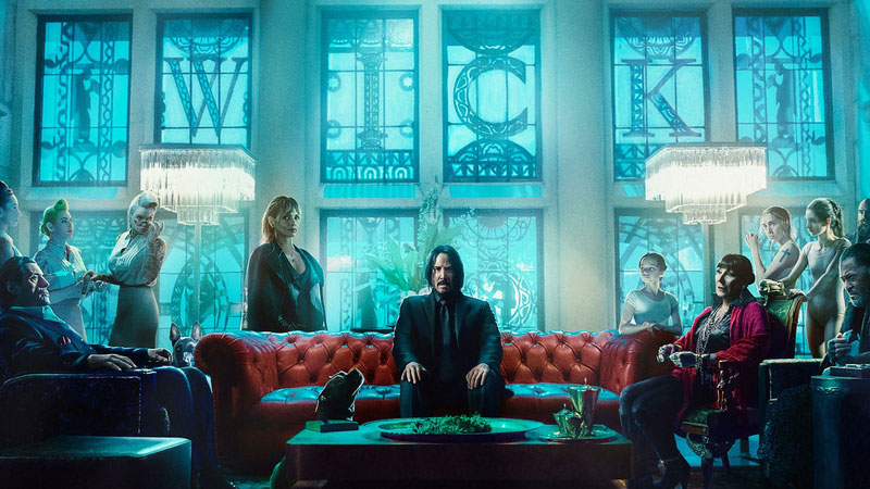 John Wick: Chapter 3 - Parabellum BTS Highlights The Continental Hotel