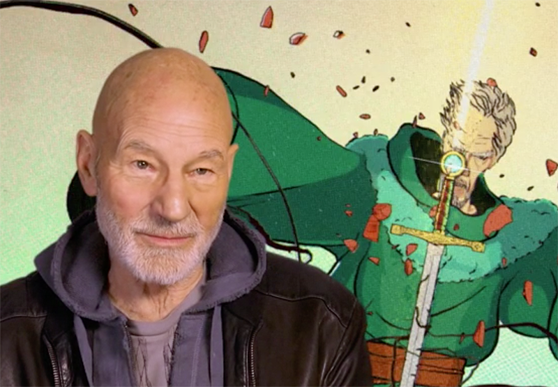 Exclusive The Kid Who Would Be King Clip With Patrick Stewart