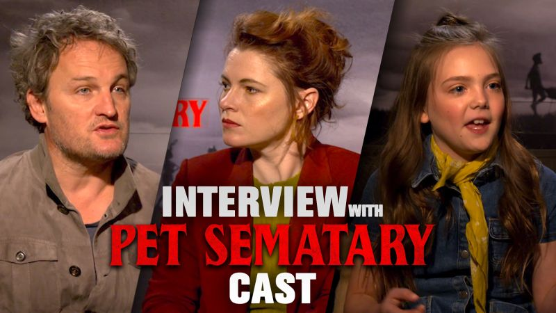 CS Video: The Pet Sematary Cast Opens Up About the Horrifying Remake