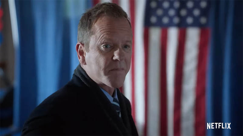 President Kirkman's Campaign is Struggling in Designated Survivor Trailer