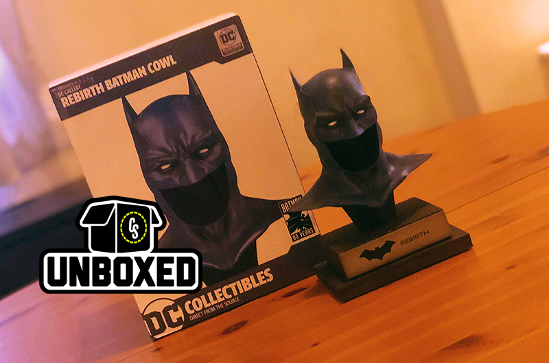 CS Unboxed: Rebirth Batman Cowl Statue From DC Collectibles