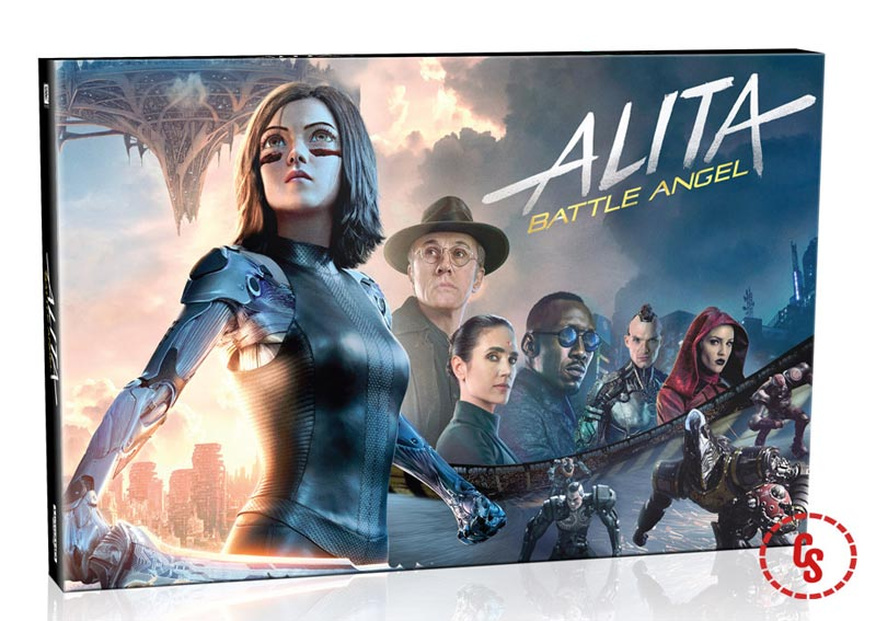 Exclusive Look at Alita: Battle Angel Limited Edition Collector's Book Set!