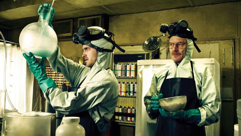 Breaking Bad: Bryan Cranston, Aaron Paul