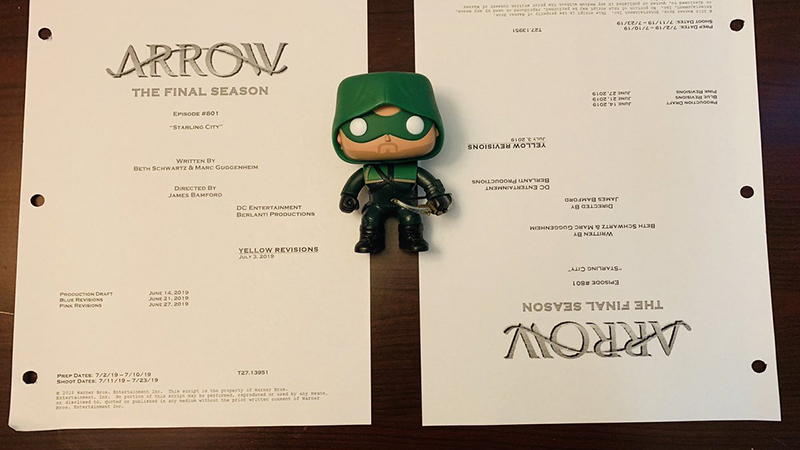 Arrow's Final Season Begins Shooting!