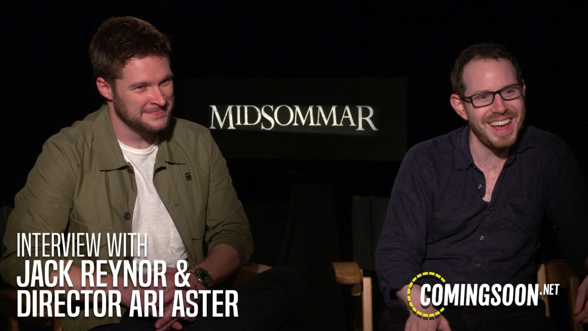 CS Video: Writer/Director Ari Aster & Star Jack Reynor Talk Midsommar