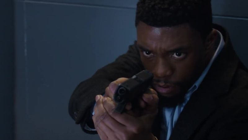 Comic-Con: New 21 Bridges Trailer With Chadwick Boseman