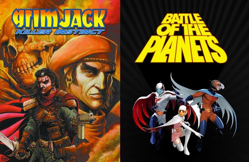 Comic-Con: Russos Developing Grim Jack and Battle of the Planets Movies