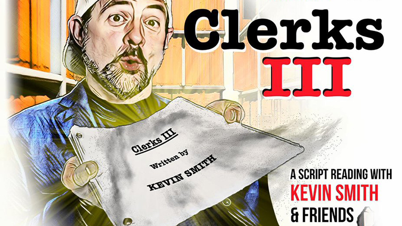 Kevin Smith to Read Unmade Clerks III Script at First Avenue Playhouse Fundraising Event