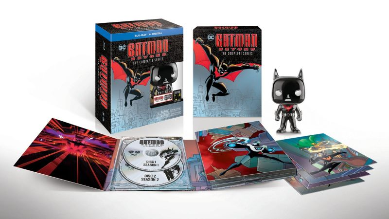Comic-Con: Batman Beyond Complete Series Blu-ray Announced!