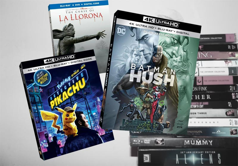 August 6 Blu-ray, Digital and DVD Releases