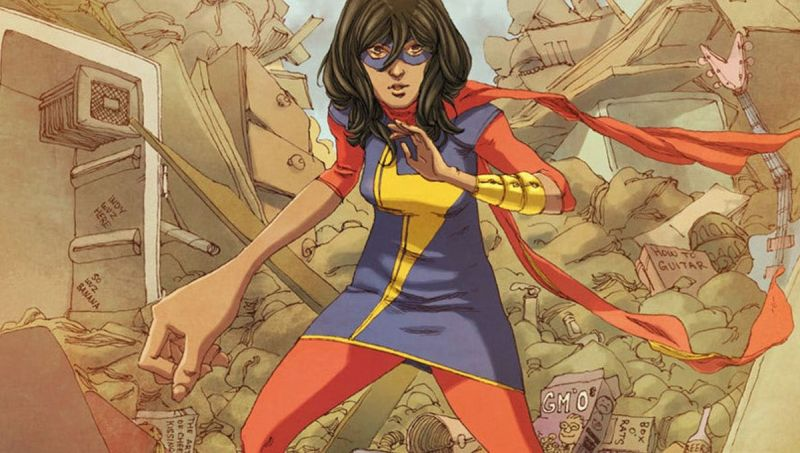 Marvel Studios Developing 'Ms. Marvel' Series For Disney Plus