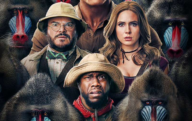 Jumanji: The Next Level IMAX Poster Teases Some Major Monkey Business